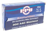 Патрон 300 ААС Blackout PPU FMJ 8,0г