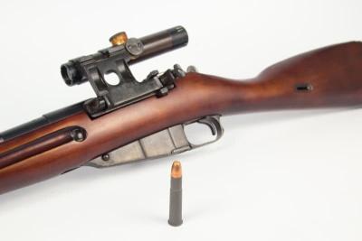 Гладкоствольное ружье Р-32 на базе винтовки Мосина