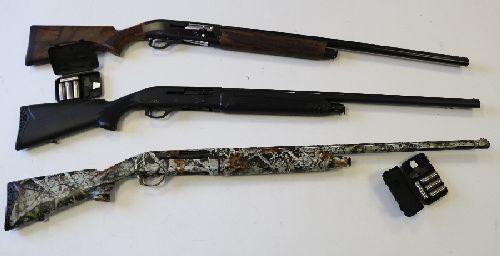 Охотничье полуавтоматическое ружье